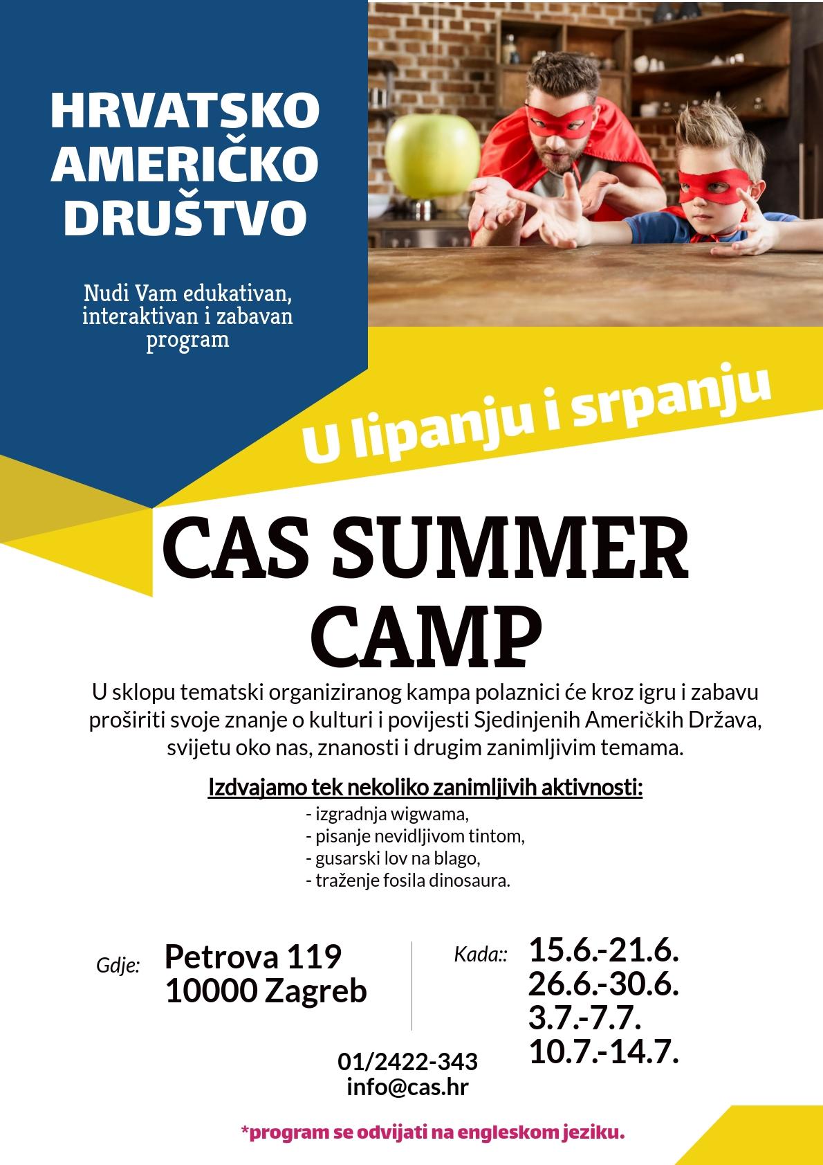 Ljetni praznici u Hrvatsko-američkom društvu