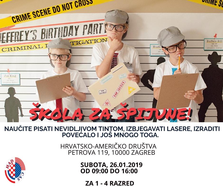 Škola Za Špijune (Engleski Zimski Kamp Za Djecu Zagreb)